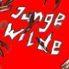 JUNGE WILDE Schriftzug 100x100