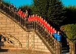 Treppe zum Museum